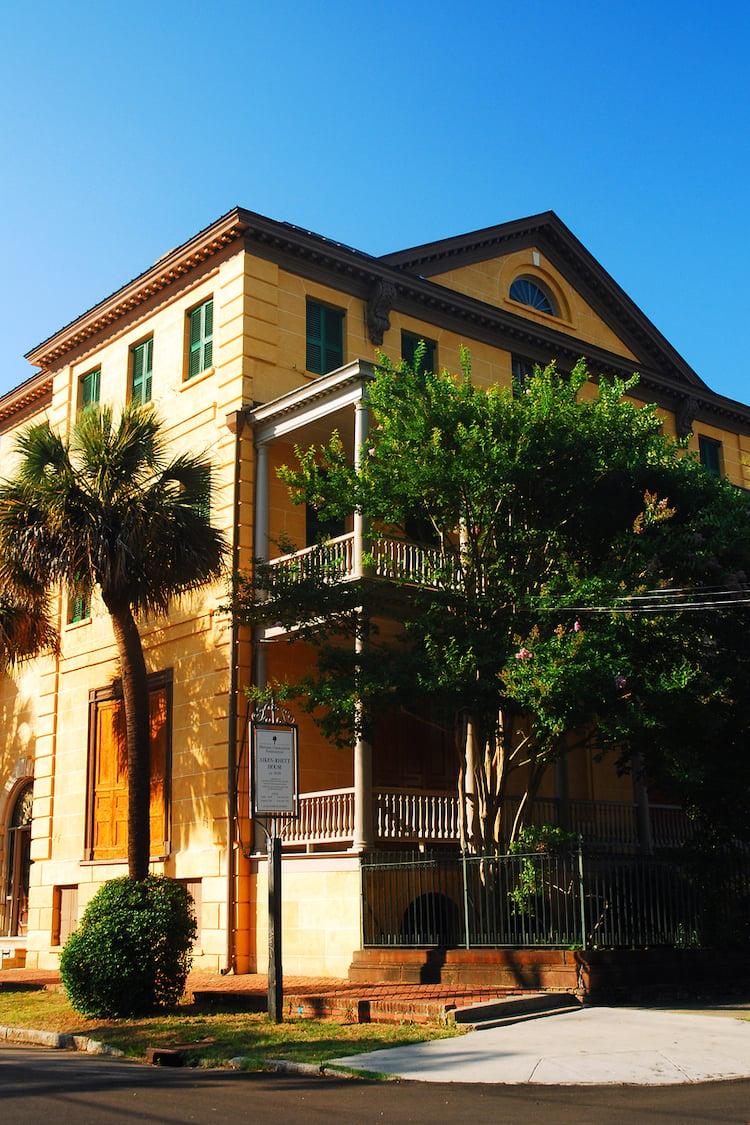 Historical House in Aiken South Carolina