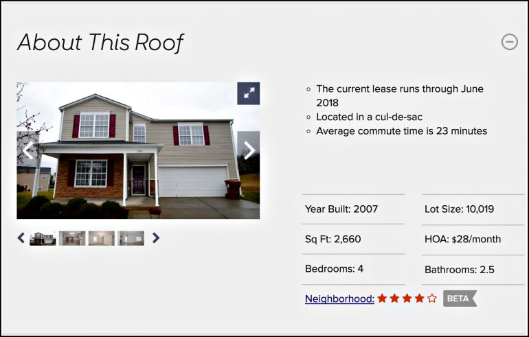 Roofstock tools investment properties buy rental homes investment investing single-family rental home