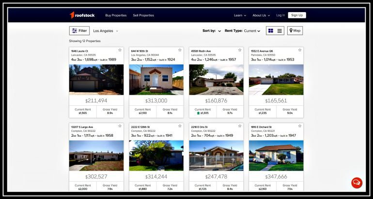 LA rental property single-family houses investment investing Roofstock