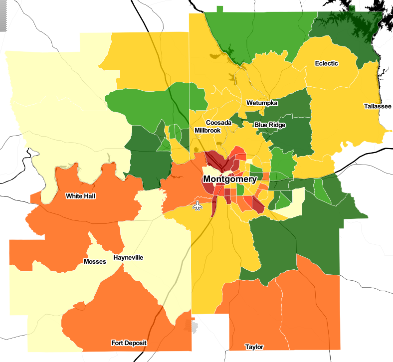 Montgomery Heatmap