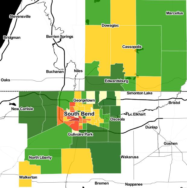 South_Bend_heatmap