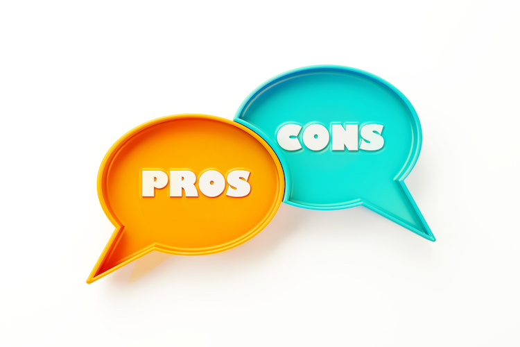 pros and cons bubbles
