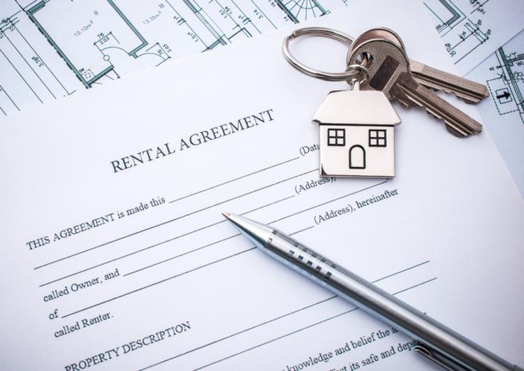 rental application with keys