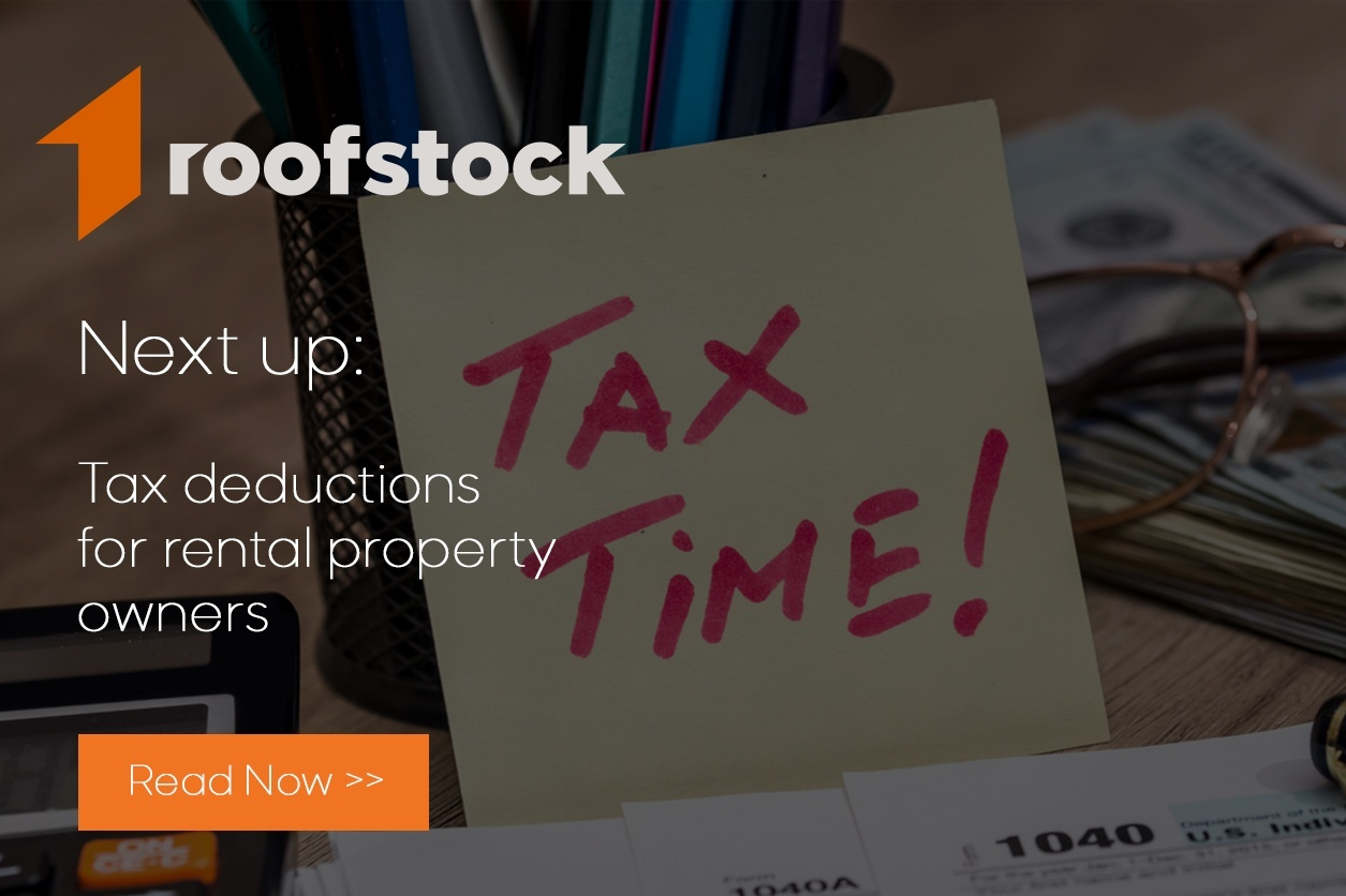 Buying Rental Invesment Property On Roofstock What Happens Next Wiring Earnest Money Tax Deductions For Owners